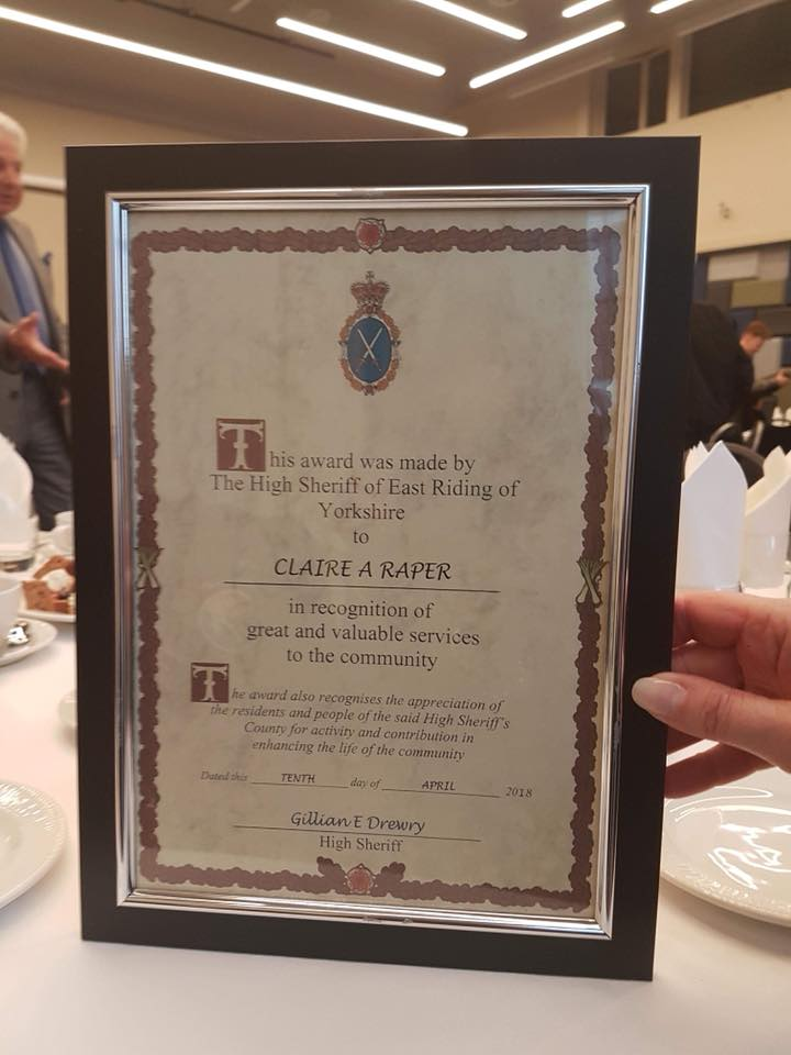 high sheriff award